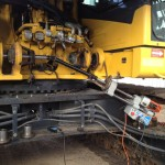 Komatsu PC 800 main lift mounts