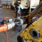 Komatsu PC 800 bucket cylinder repair