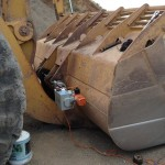 CAT 988 bucket repair